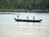 Fishermen in backwaters Kerala